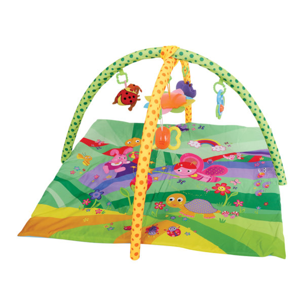 "Lorelli Toys Активна гимнастика - Тепих за игра ""ПРИКАЗКА"" Зелен 1030033"